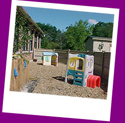 Outside Play Area at Happy Tails